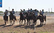 Сборная Узбекистана на чемпионате мира по кокпару в Астане