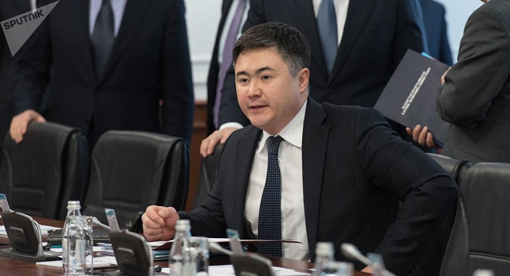 Министр национальной экономики РК Тимур Сулейменов