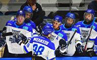 Игроки хоккейного клуба Снежные барсы