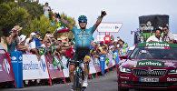 Казахстанский велогонщик Алексей Луценко