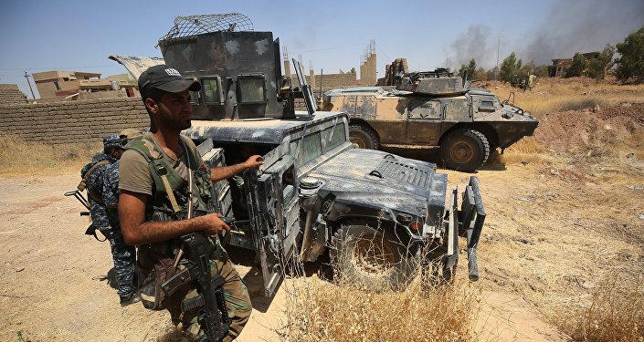 Ирактағы Тель-Афар қаласын босату кезіндегі әскерилер