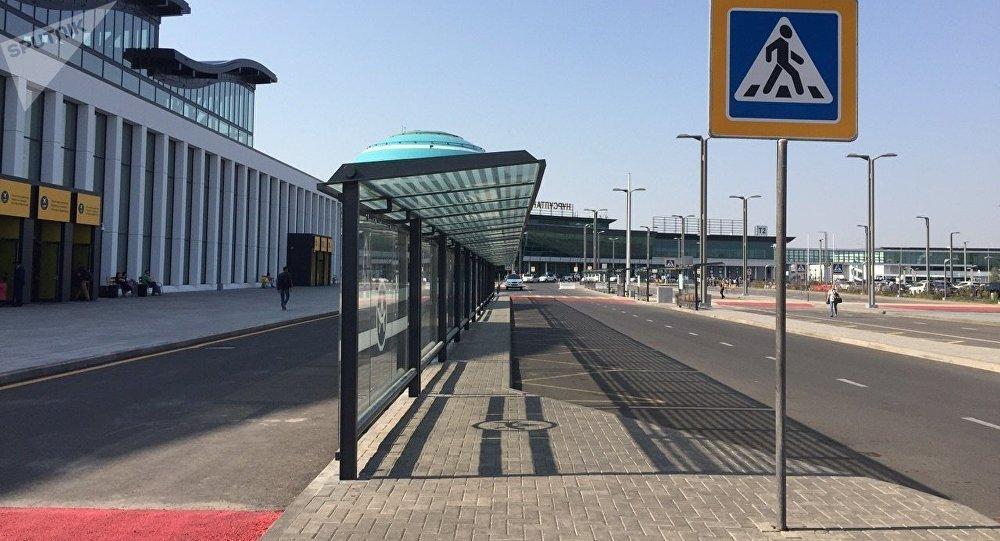Астана әуежайының жаңа терминалы