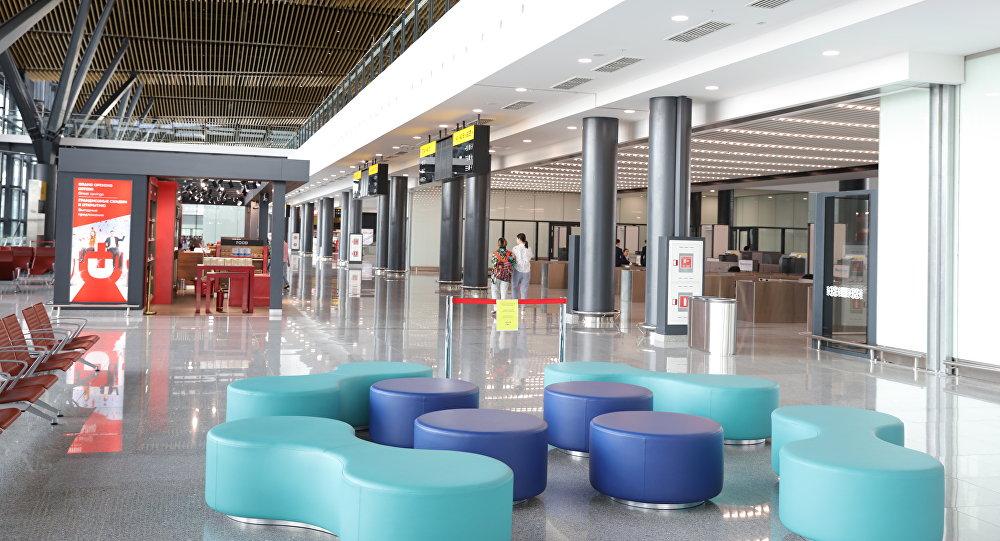 Новый терминал международного аэропорта Астаны