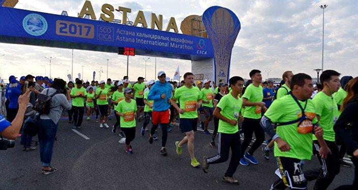 Международный марафон в Астане
