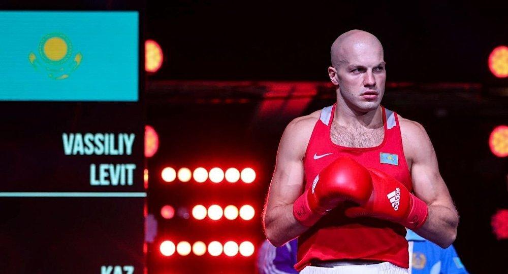 Василий Левит на ЧМ-2017 по боксу в Гамбурге