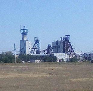 Шахта Казахстанская в Карагандинской области