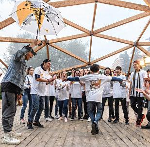 Танцевальный коллектив Тодес провели мастер-класс для участников проекта Ты супер! Танцы