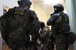 Сотрудники ФСБ РФ, архивное фото