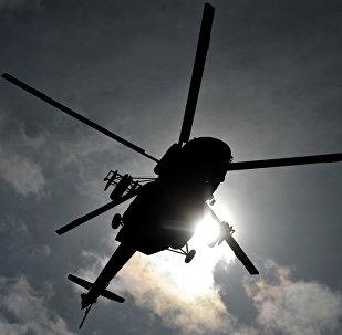 Архивное фото вертолета Ми-8