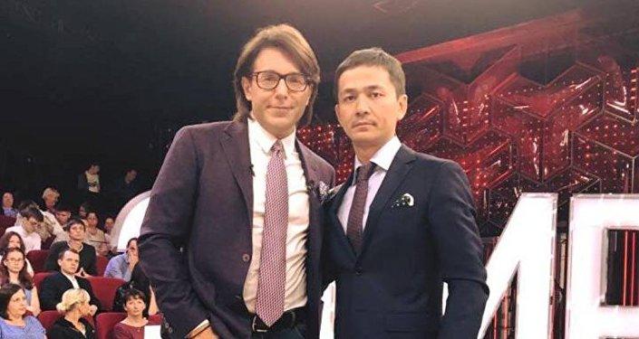 Сункар Нурмагамбетов с Андреем Малаховым
