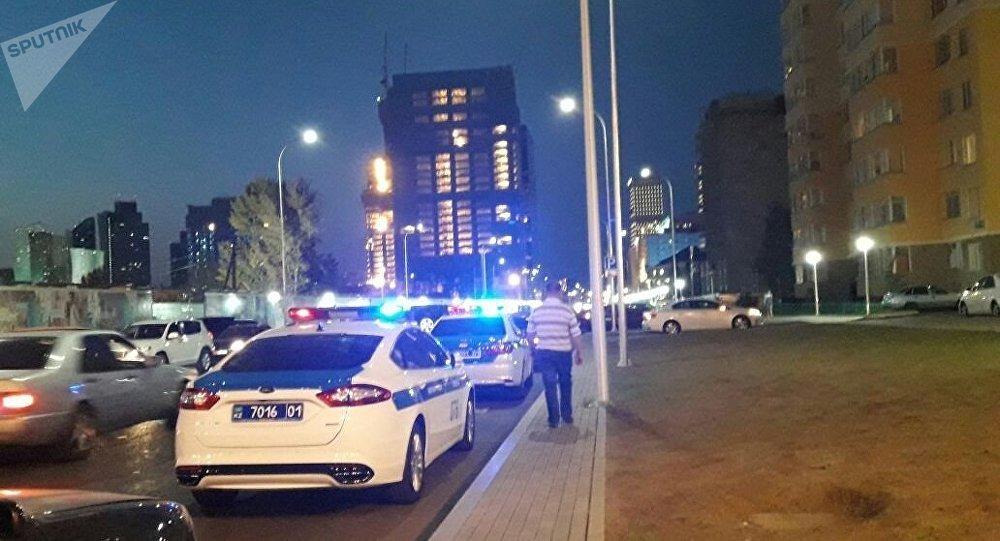 Перекресток улиц Алматы и Туркестан перекрыт в Астане