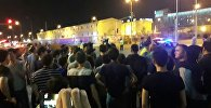 Полицейские перекрыли улицы на Левом берегу Астаны