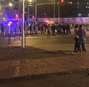 Беспорядки в Астане: полиция и спецназ перекрыли улицы
