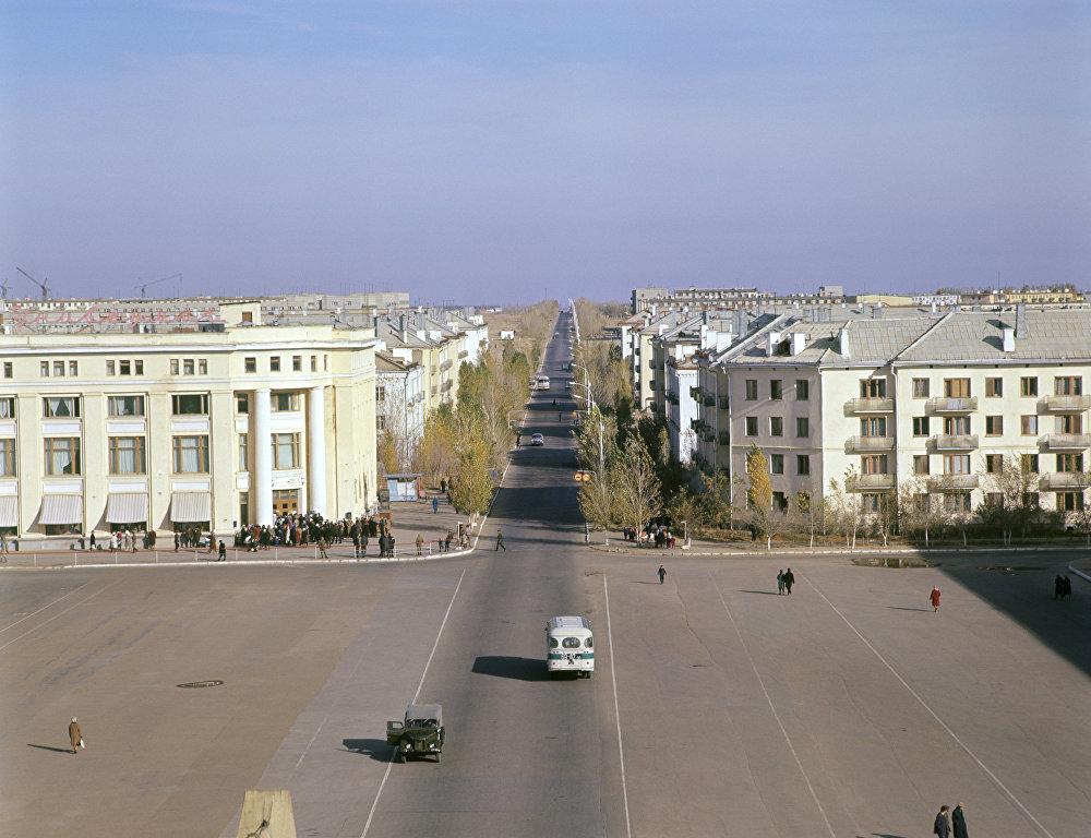 Площадь Ленина в Звездограде