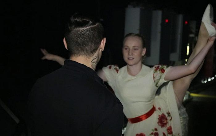 Жизнь за кулисами танцы шоу