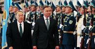 Архивное фото президента Казахстана Нурсултана Назарбаева и президента Польши Анджея Дуды