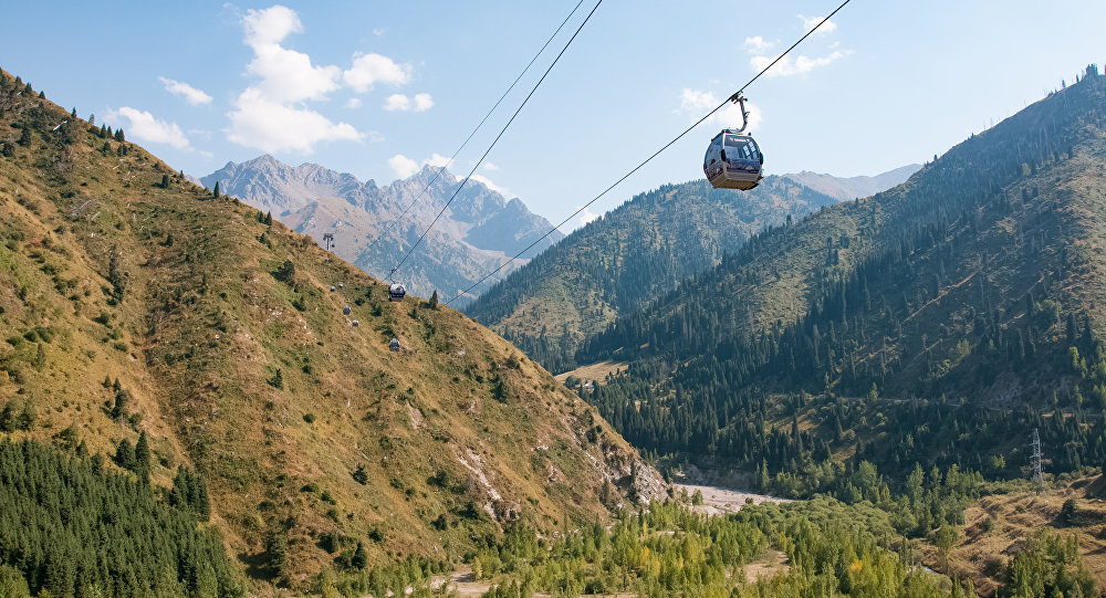 Осень в горах Алматы