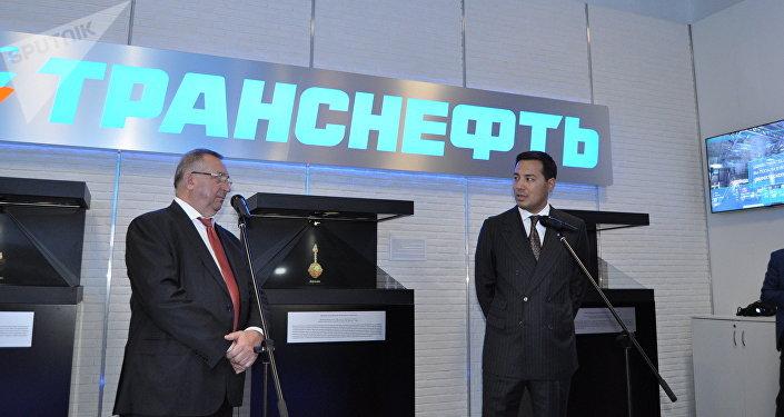 Презентация стенда Транснефти в павильоне России на ЭКСПО-2017