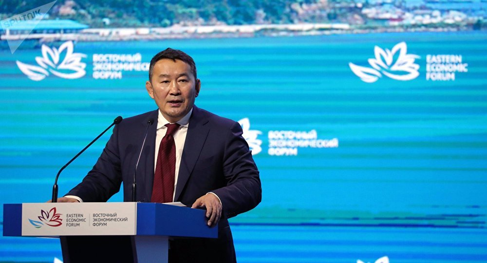 Моңғолия президенті Халтмаагийн Баттулга