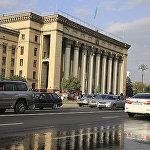 Площадь Астана в Алматы после реконструкции