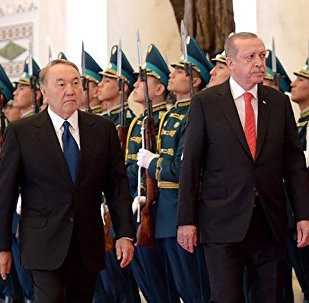 Встреча с Президентом Турецкой Республики Реджепом Тайипом Эрдоганом