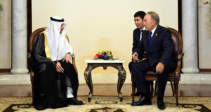 Встреча с Генеральным секретарем ОИС Юсефом бен Ахмадом аль-Осеймином на полях Саммита ОИС по науке и технологиям