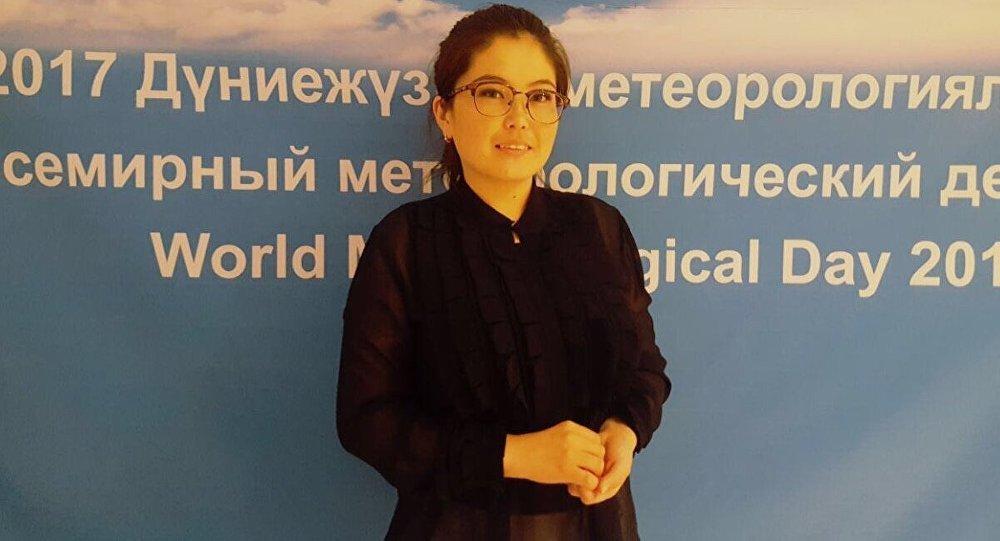 Қазгидромет инженер синоптигі Айнұр Қайынбаева