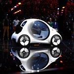 Автомобиль будущего – Smart Vision EQ Fortwo