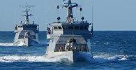 Казахстанские военные корабли, архивное фото