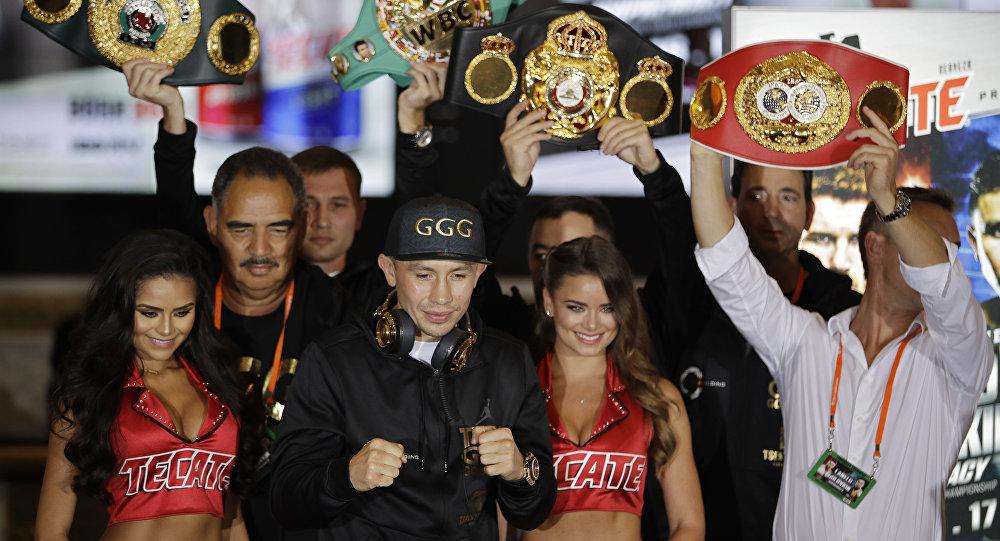 Промоутер разъяснил, почему Головкин небудет боксировать сДеревянченко