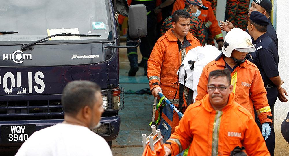 Крупный пожар произошел в религиозной школе в столице Малайзии Куала-Лумпуре в четверг утром
