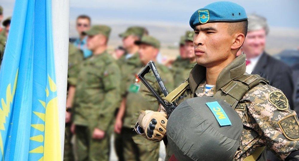 Казахстанский миротворец
