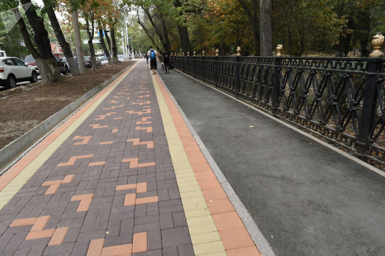 Реконструкция пешеходной зоны в Парке 28 панфиловцев