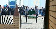 Церемония захоронения останков Кейки батыра