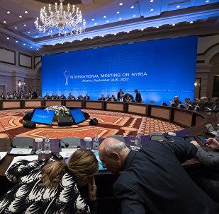 Переговоры по Сирии в Астане, архивное фото