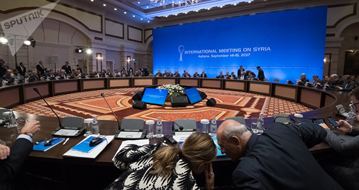 Шестой раунд переговоров по Сирии в Астане
