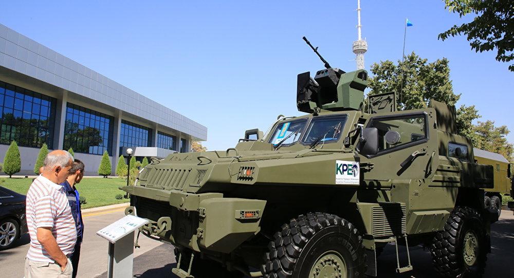 Выставка казахстанской военной продукции в Ташкенте