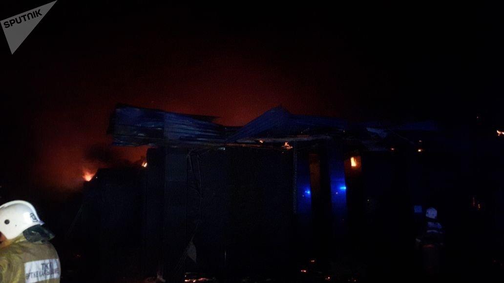 Пожар в кафе Чинар