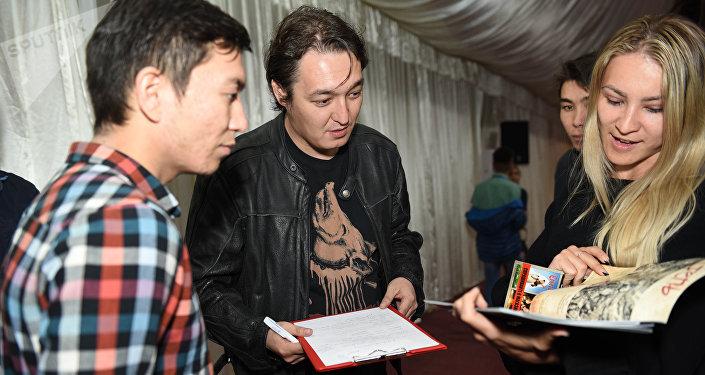 Основатель компании Khan Comics Оразхан Жакуп