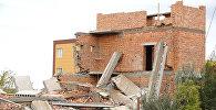 Опустевшая стройка: как выглядит место обрушения в Астане