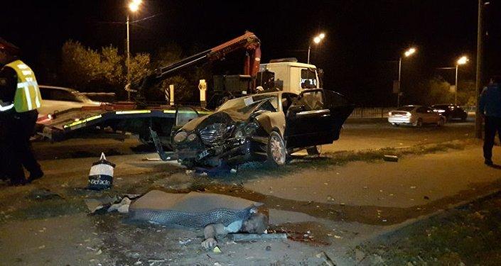 ВКазахстане вДТП сверблюдом погибли 5 человек