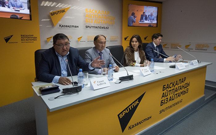 Пресс-конференция, посвященная переходу казахского языка на латинский алфавит