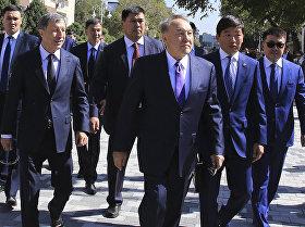 Нұрсұлтан Назарбаев Арбатты аралап шықты