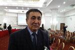 Директор общественного фонда Информационно-пропагандистский и реабилитационный центр Акниет Алим Шауметов