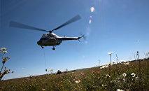 Вертолет Ми-2, архивное фото