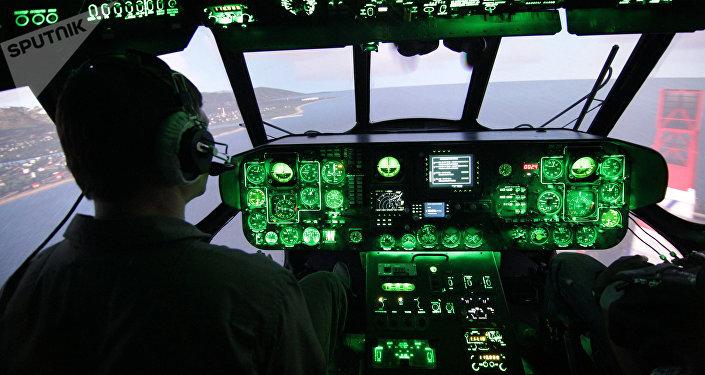 Кабина вертолета, архивное фото