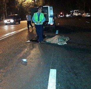 Женщину сбили на улице Бурундайской