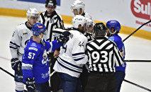 Барыс - Динамо Москва - 3:5