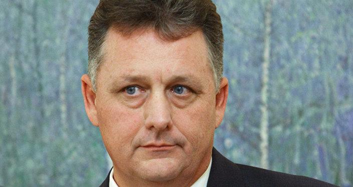 Вице-президент по развитию бизнеса корпорации Chevron Джей Прайор, архивное фото