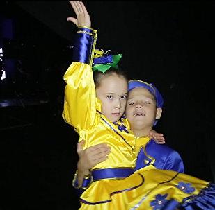 Радха и Амиль из Усть-Каменогорска готовятся к выступлению  на Ты супер! Танцы